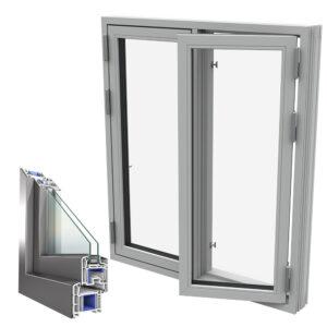 aluminijumski prozor termopan